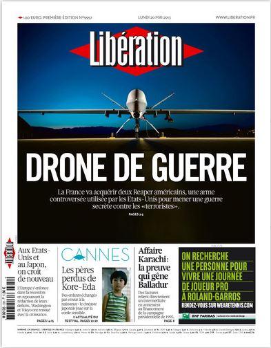 Libération Lundi 20 mai 2013