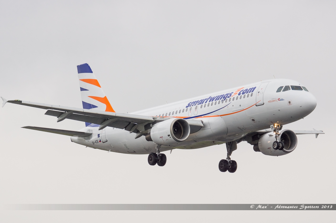 [20/05/2013] A320 (OK-HCB) Smart Wings 13052211312116280011217877