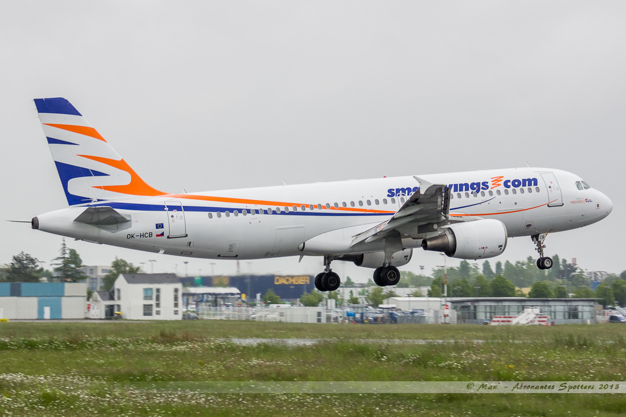 [20/05/2013] A320 (OK-HCB) Smart Wings 13052211312116280011217879