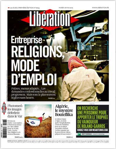 Libération Mardi 28 Mai 2013