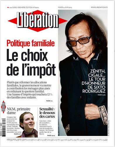 Libération Mardi 4 juin 2013