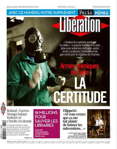 Libération Mercredi 5 juin 2013