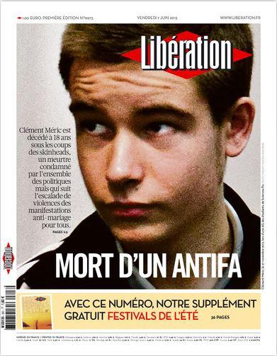 Libération Vendredi 7 juin 2013