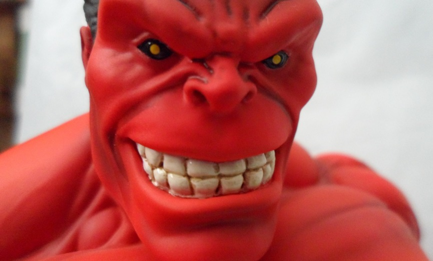 RED HULK MINI BUST GENTLE GIANT 130607033105732011269327
