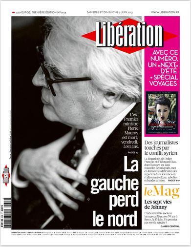 Libération Samedi 8 et dimanche 9 juin 2013