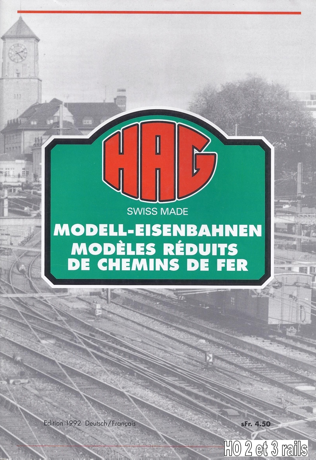 HAG Catalogue 1992 (33 pages) 1306090333118789711273968