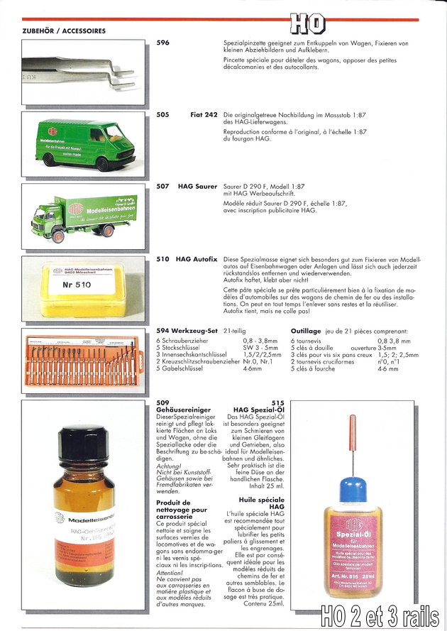 HAG Catalogue 1992 (33 pages) 1306090338358789711273998