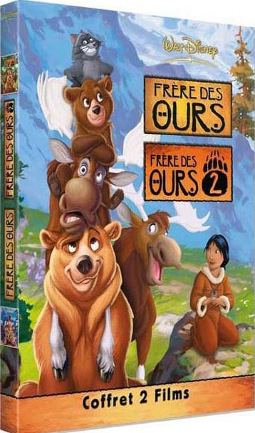 Telecharger Frère des ours - Frère des ours 2 [DVDRIP]