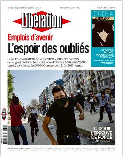 Libération Mercredi 12 juin 2013