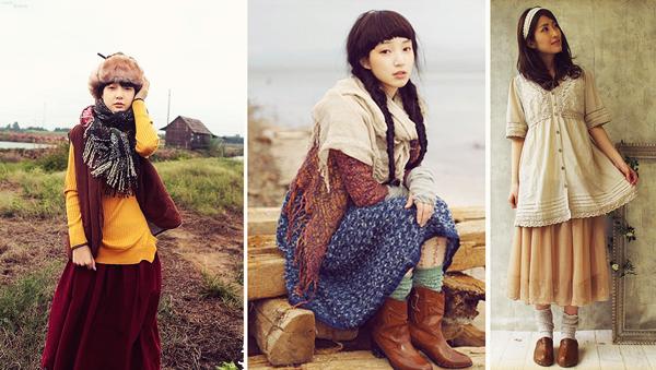 [Mode] Le Japon et ses styles les Mori Girls