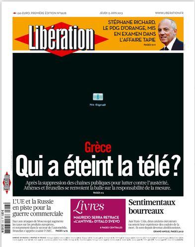 Libération Jeudi 13 juin 2013