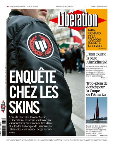 Libération Vendredi 14 juin 2013