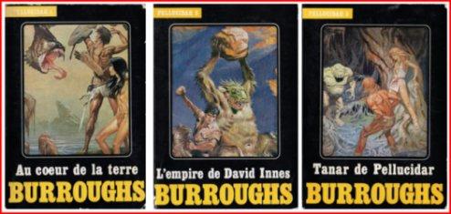 Pellucidar de Edgar Rice Burroughs livres1 a 3