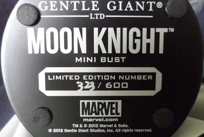 MOONKNIGHT MINI BUST GENTLE GIANT 130620040437732011310129