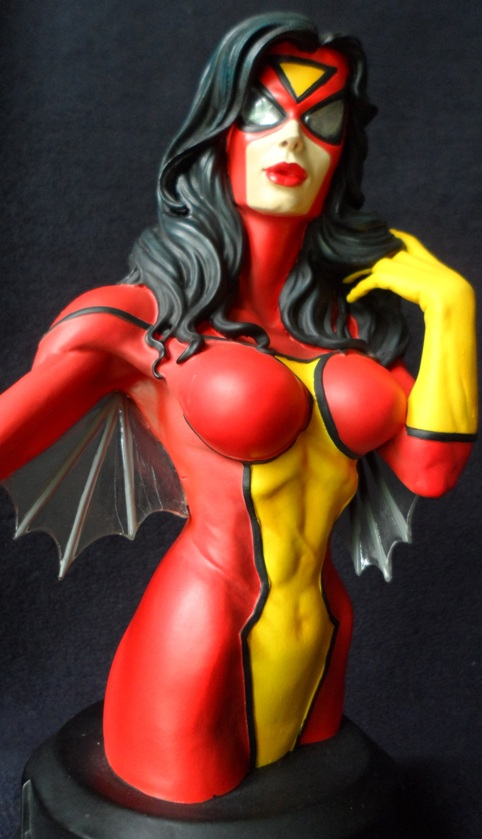 SPIDER-WOMAN MINI BUST GENTLE GIANT 130620040441732011310132