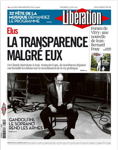Libération Vendredi 21 juin 2013