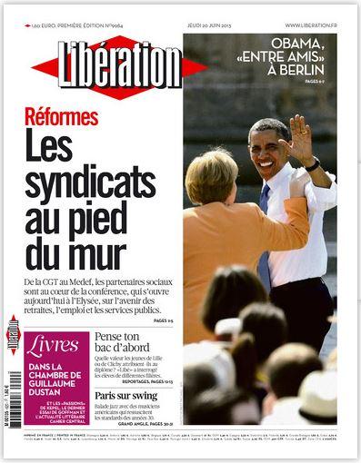 Libération Jeudi 20 juin 2013