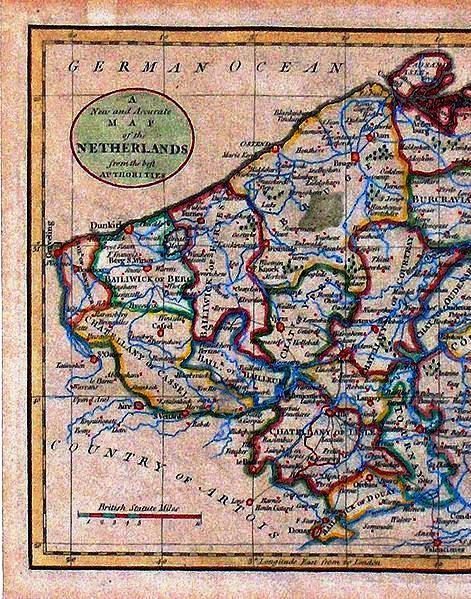 Oude kaarten, gravures en tekeningen van Frans-Vlaanderen - Pagina 2 13062102460314196111312772