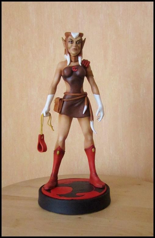 Thundercats Pumyra statue  13062107353616083611314196