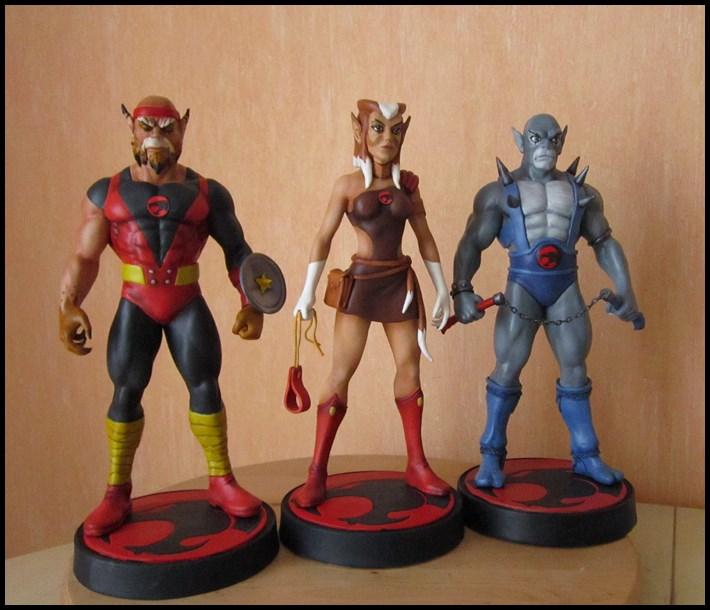 Thundercats Pumyra statue  13062107353616083611314197