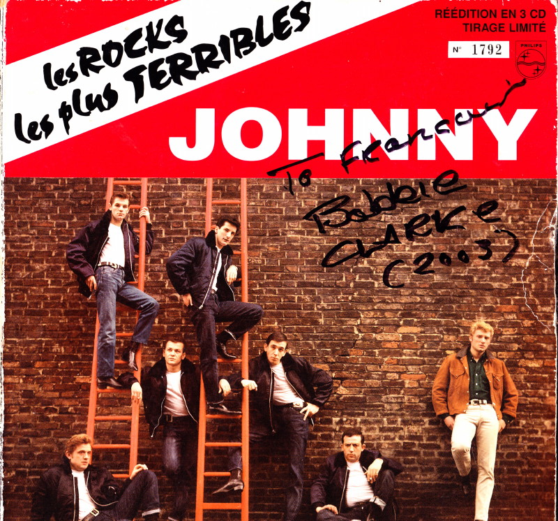 "JOEY & THE SHOWMEN, le groupe des ""ROCKS LES PLUS TERRIBLES"" (1964) de JOHNNY HALLYDAY 13062210141715789311317641"