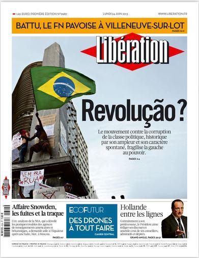 Libération Lundi 24 juin 2013