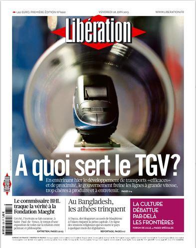 Libération Vendredi 28 juin 2013