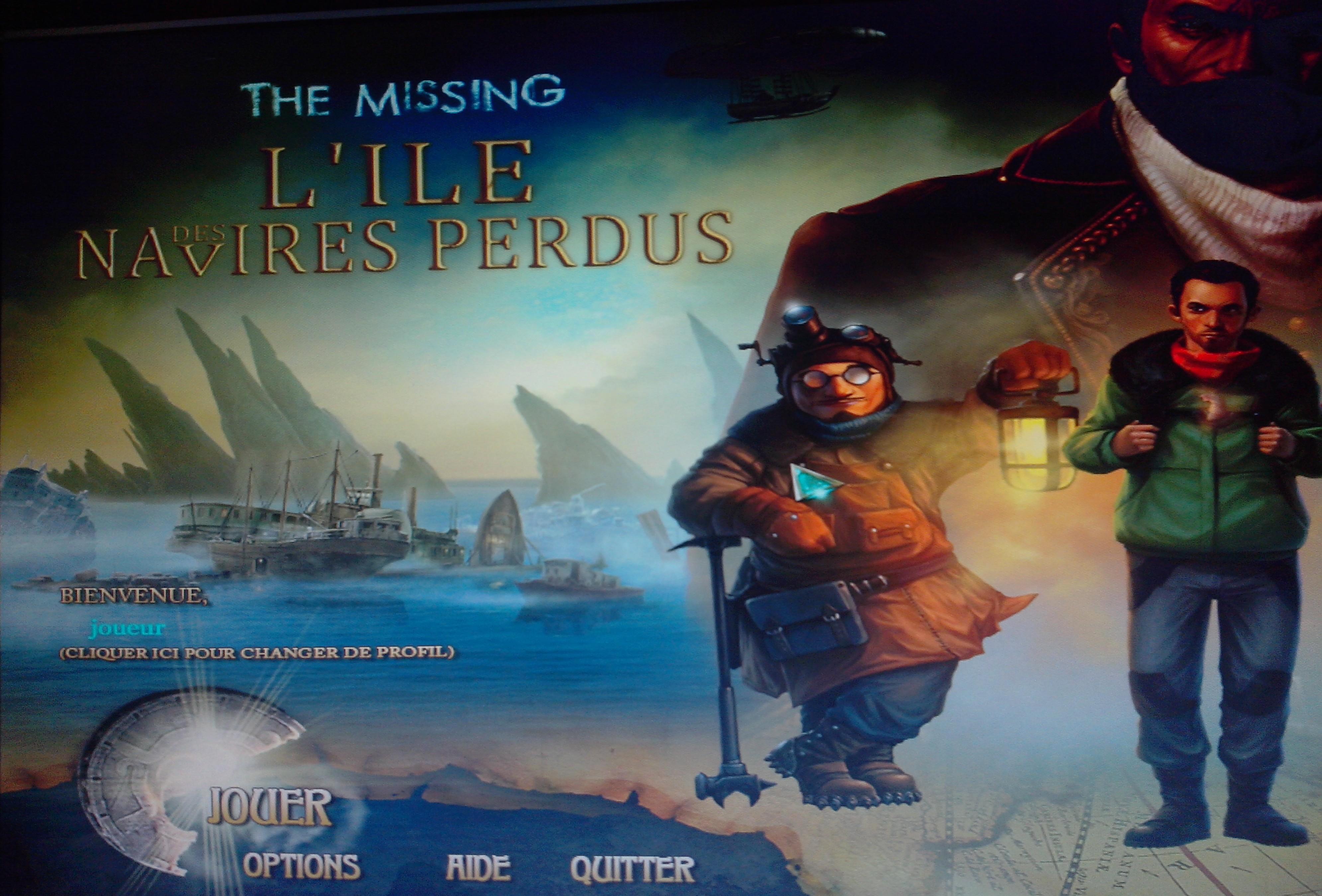 [Multi] The Missing: L'Ile des Navires Perdus [FR]