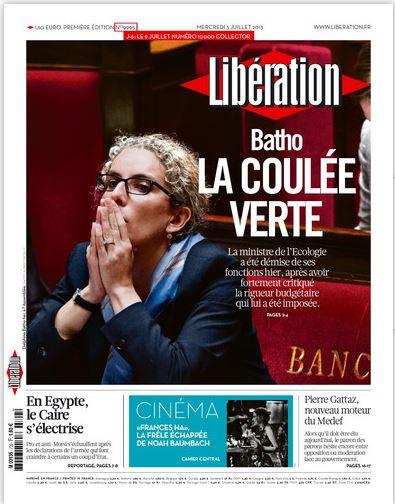 Libération Mercredi 3 juillet 2013