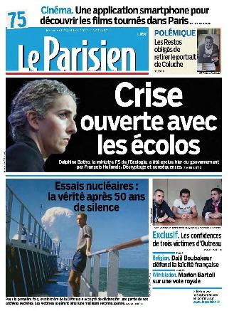 Le Parisien Mercredi 03 Juillet 2013