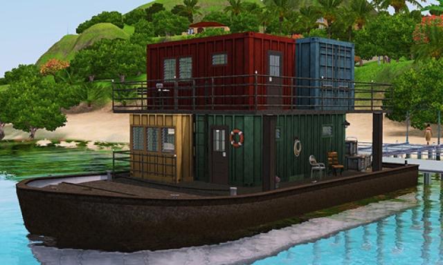 [Inspiration] [Sims 3] Maisons-bateaux - Page 2 13070606260210715011357556