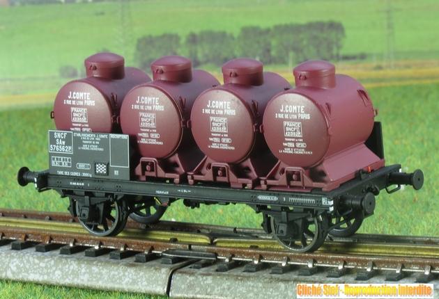 Plats chargés de containers et autres chargements 1307060700448789711357643