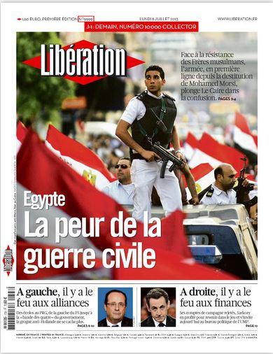 Libération Lundi 8 juillet 2013