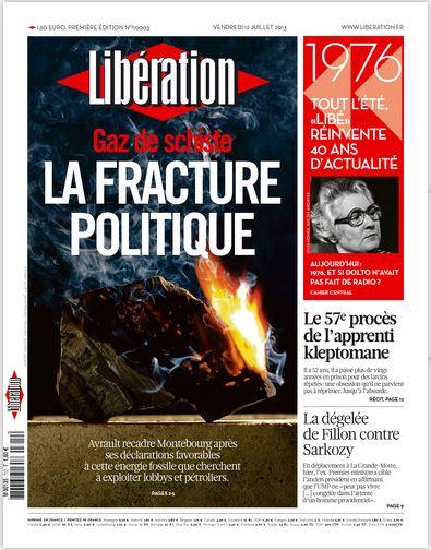 Libération Vendredi 12 juillet 2013