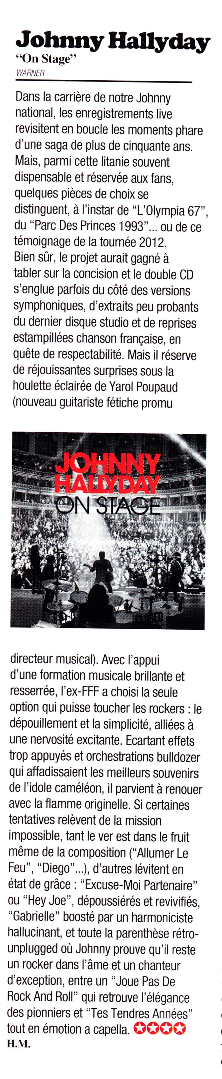 Yarol Poupaud, Black Minou & Johnny Hallyday par Philippe Manoeuvre (Rock&Folk) - Page 2 13071307353115789311378458