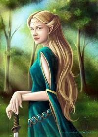 Eliël Terra Farror, Reine des Elfes 13071703572614540311389516