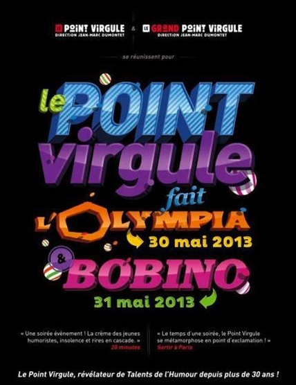 Le Point Virgule Promotion 2013