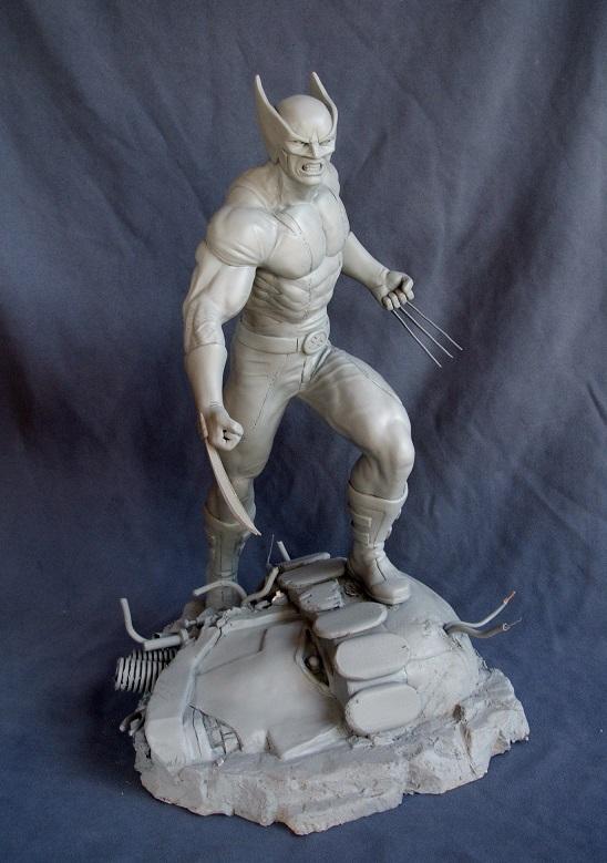 Wolverine 1/4 statue by nimajneb 13072511393616083611410077