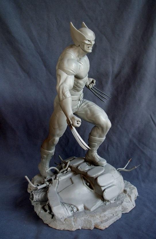 Wolverine 1/4 statue by nimajneb 13072511393616083611410078