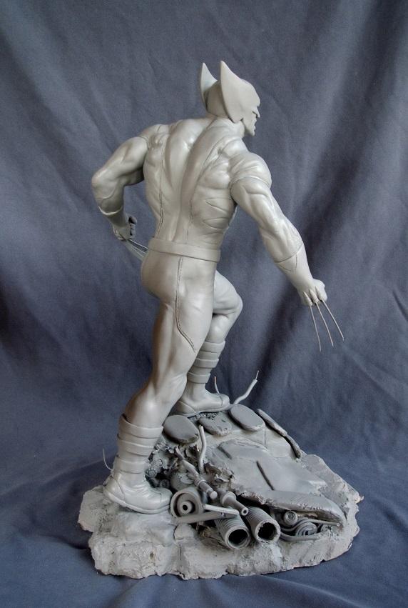 Wolverine 1/4 statue by nimajneb 13072511393616083611410079
