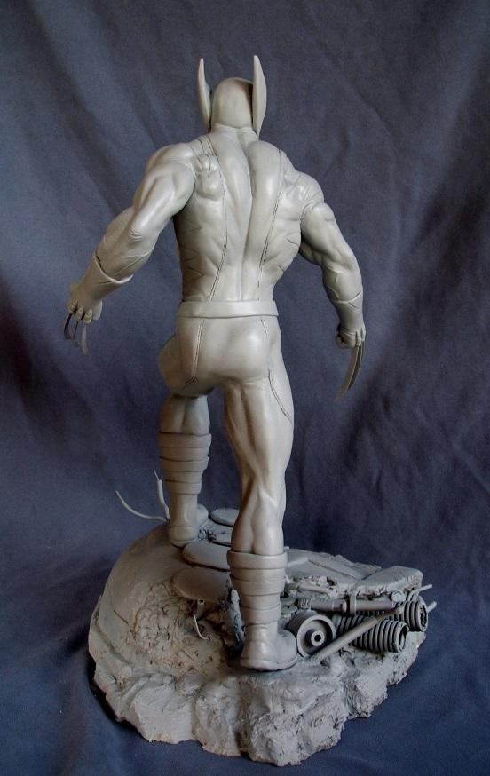 Wolverine 1/4 statue by nimajneb 13072511393616083611410080