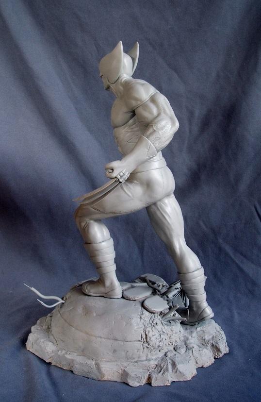 Wolverine 1/4 statue by nimajneb 13072511393616083611410081