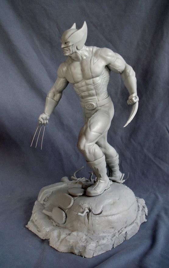 Wolverine 1/4 statue by nimajneb 13072511393616083611410082
