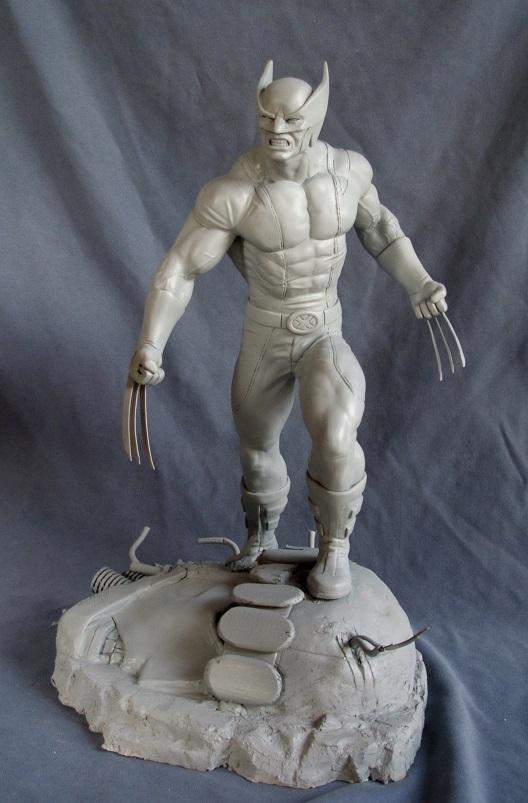 Wolverine 1/4 statue by nimajneb 13072511393616083611410084