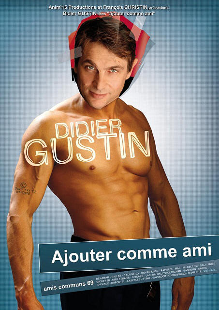 Telecharger Didier Gustin : Ajouter comme ami [DVDRIP]