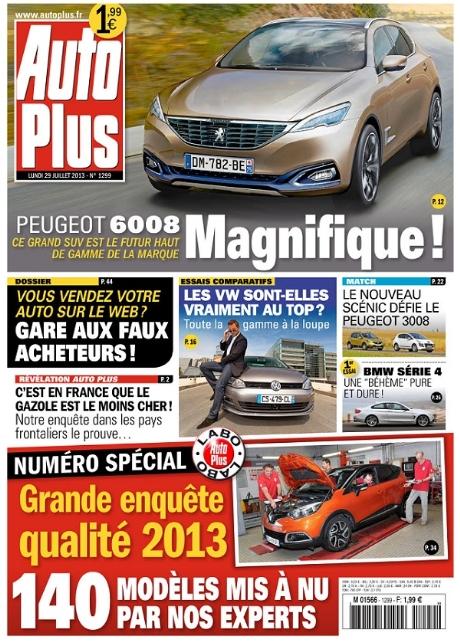 Auto Plus N°1299 Du 29 Juillet 2013