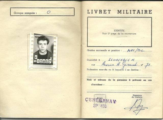 le Livret Militaire 1307310315004773511426988