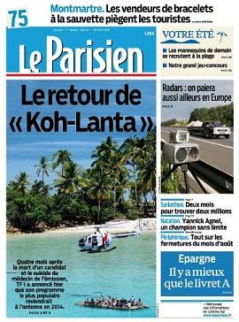 Le Parisien Jeudi 1er Août 2013