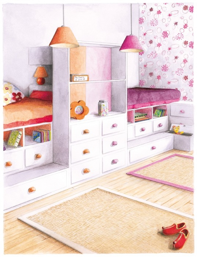 chambre de 9m2 great miniature chambre de bonne parsienne paris m paris aurore pannier with. Black Bedroom Furniture Sets. Home Design Ideas