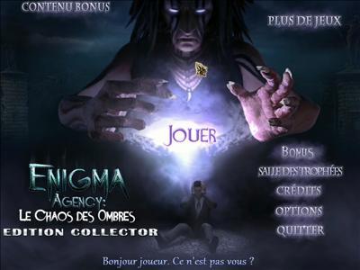 [Multi] Enigma Agency: Le Chaos des Ombres Edition Collector [fr]
